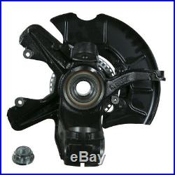 Suspension Knuckle Assembly-Wheel Bearing and Hub Assembly Front Left Moog LK007