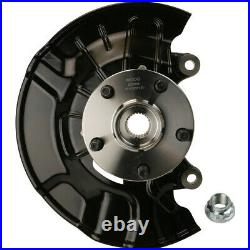 Suspension Knuckle Assembly-Wheel Bearing and Hub Assembly Front Right Moog