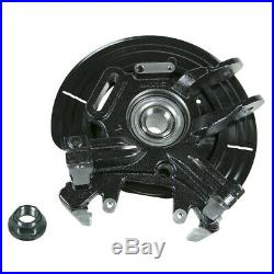 Suspension Knuckle Assembly-Wheel Bearing and Hub Assembly Rear Left Moog LK001