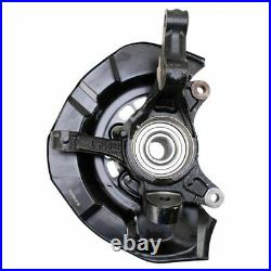 TRQ Front Wheel Bearing & Hub Assembly with Knuckle LH for Toyota Sienna AWD
