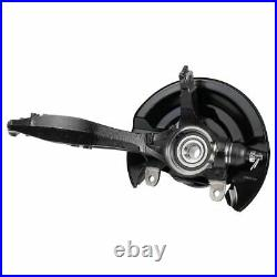 TRQ Front Wheel Bearing & Hub Assembly with Knuckle RH for Honda Accord 2.4L
