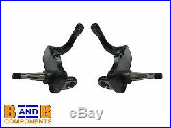 Vw T2 Bay Camper Van Ball Joint Lowered Dropped Spindles Knuckle Set Disc A922