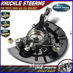 Wheel Bearing Hub Knuckle Assembly for Toyota Camry 2.5L 3.5L 12-17 Front Right