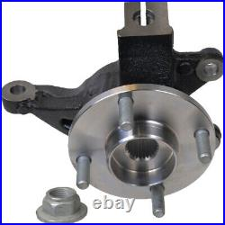 Wheel Hub Bearing & Steering Knuckle Assembly Right For FORD FOCUS 2006-11