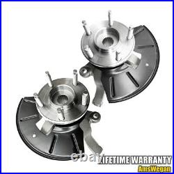 Wheel Hub Steering Knuckle Assembly Left & Right Set Ford Escape Tribute Mariner